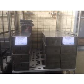 Sterilisatiebakken 157x390x89mm