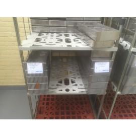 Sterilisatiebakken 157x399x59mm