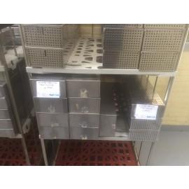 Sterilisatiebakken 157x399x89mm